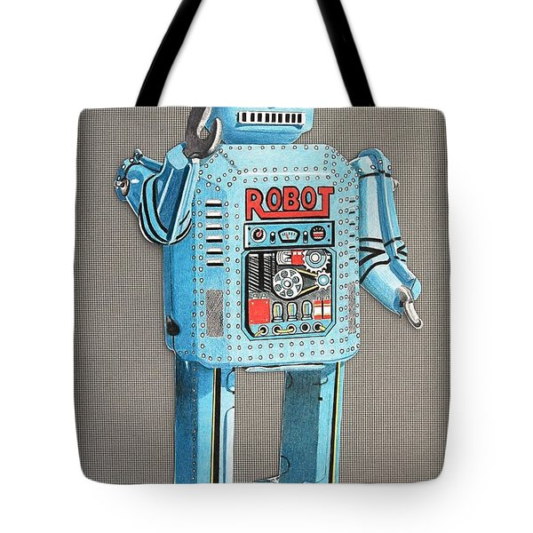 Wind-up Robot 2 Tote Bag