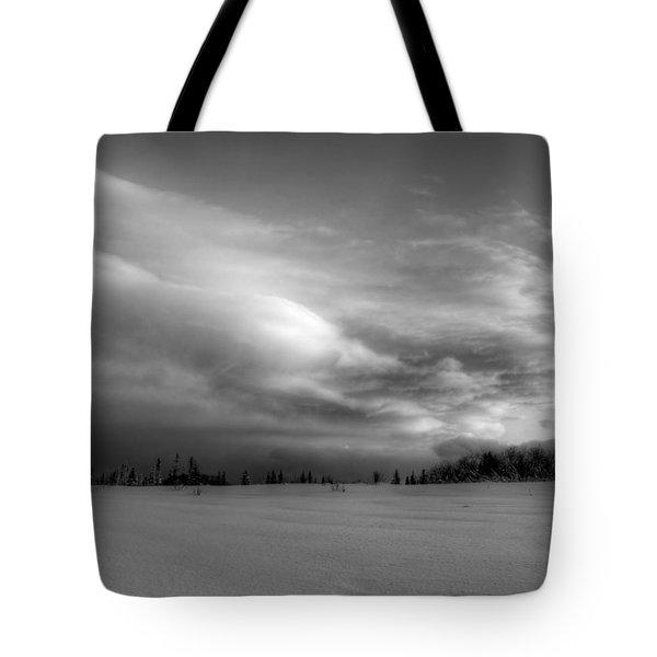 Windblown Cloud Tote Bag by Michele Cornelius