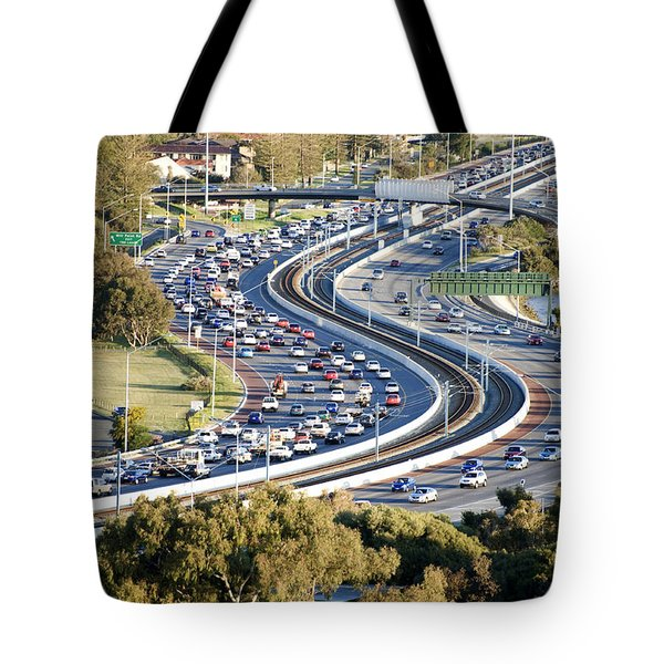 Tote Bag featuring the photograph Winding Road by Yew Kwang
