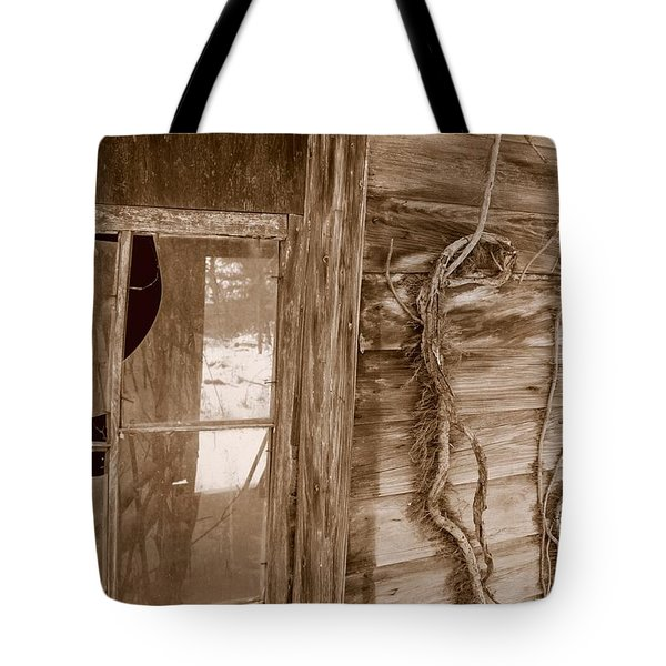 Window And Vine Tote Bag