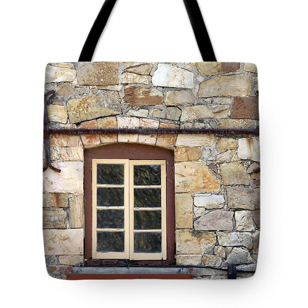 Window Into The Past Tote Bag