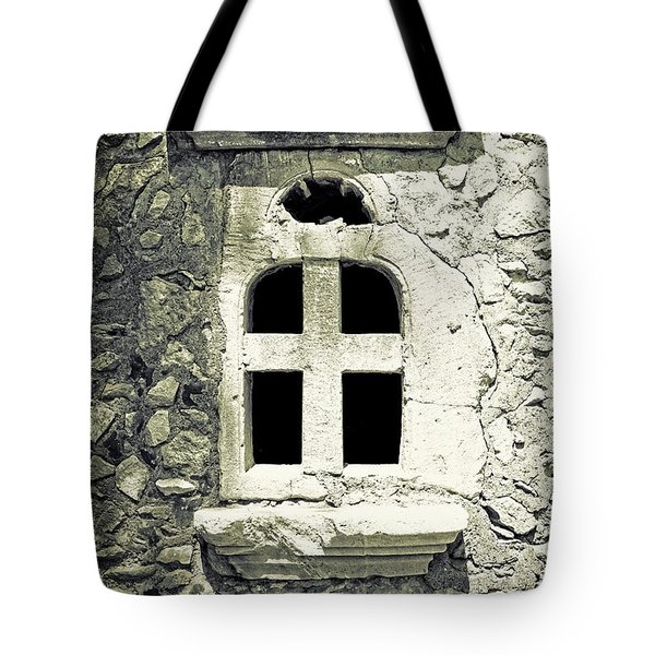 Window Of Stone Tote Bag by Joana Kruse