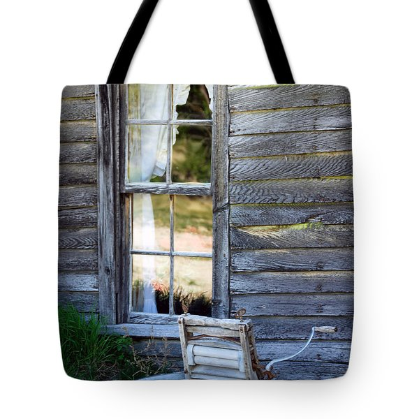 Window On Prairie Life Tote Bag