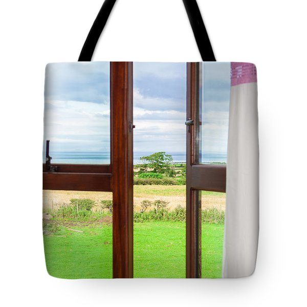 Window View Tote Bag by Semmick Photo