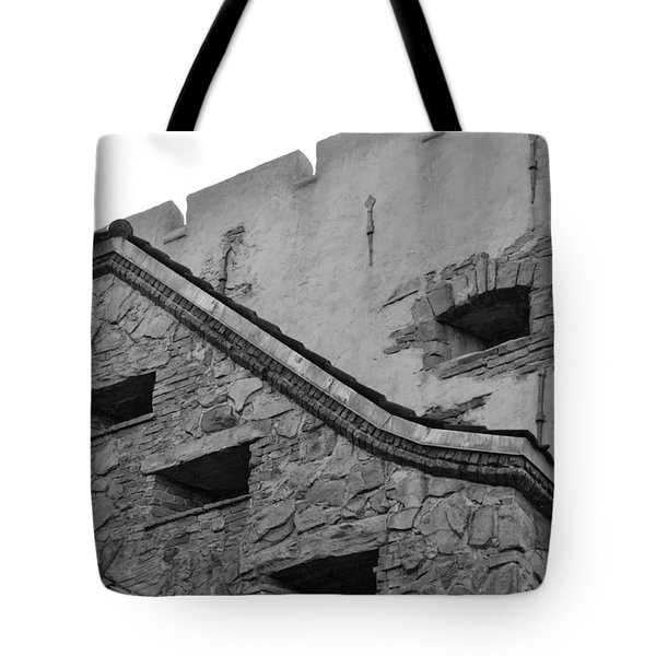 Windowed Wall Tote Bag