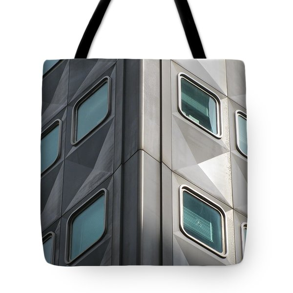 Tote Bag featuring the photograph Windows by Alfred Ng