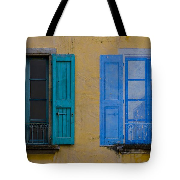 Windows Tote Bag by Debra and Dave Vanderlaan
