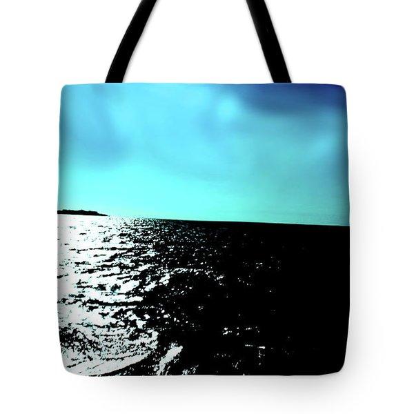 Windsurfing Greece Tote Bag