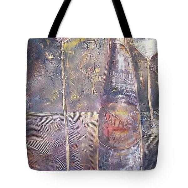 Wine Characters Tote Bag