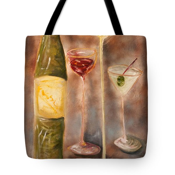 Wine Or Martini? Tote Bag