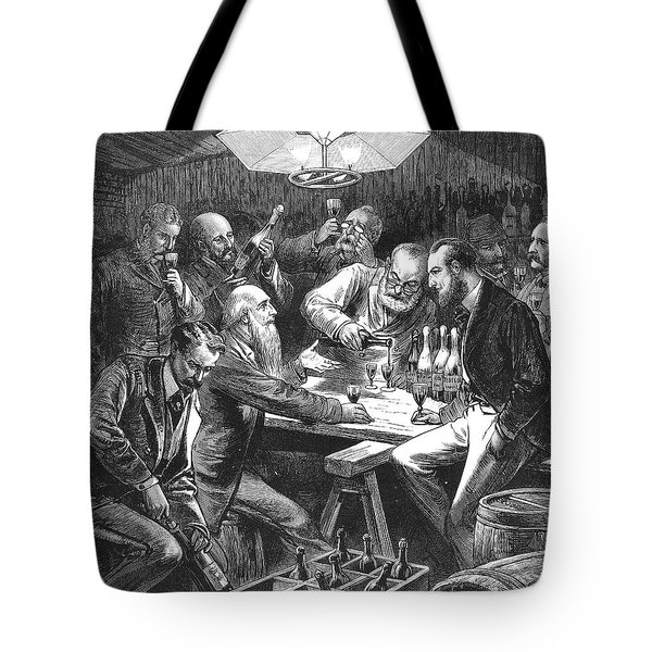 Wine Tasting, 1876 Tote Bag by Granger