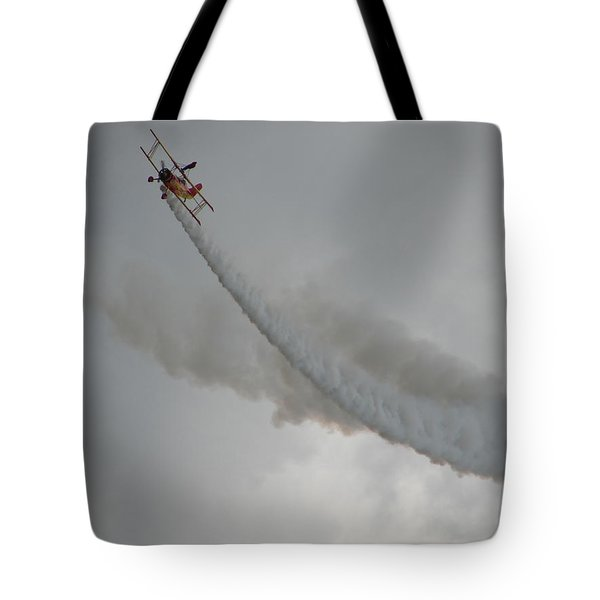 Wing Walker Tote Bag by Randy J Heath