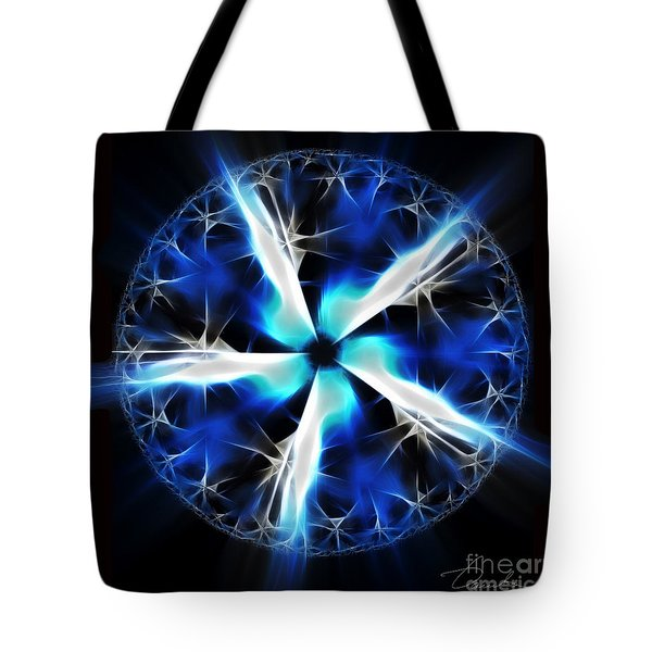 Wings Of Abyss Tote Bag by Danuta Bennett