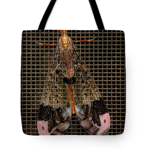 Wings Of Electricity Tote Bag by DigiArt Diaries by Vicky B Fuller