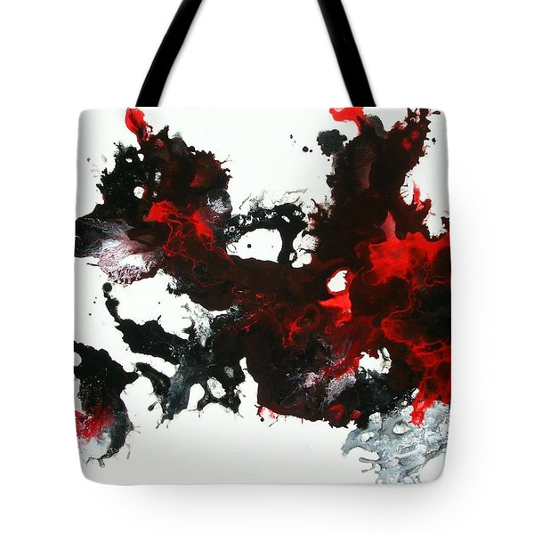 Tote Bag featuring the painting Wings Of Fire by Mary Kay Holladay