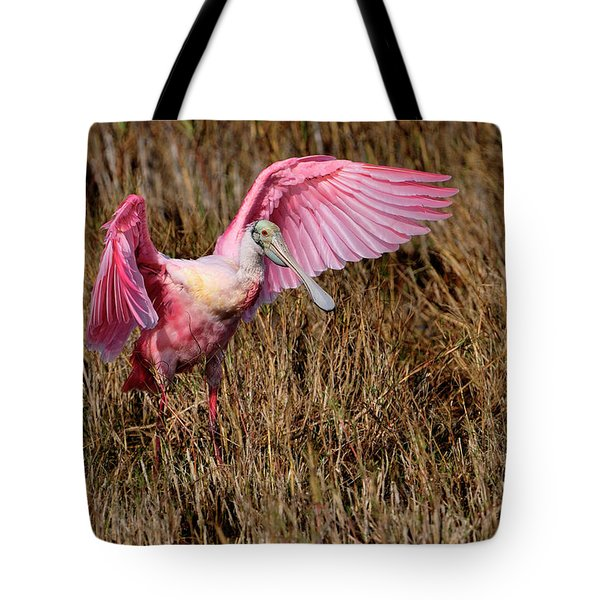 Wings Of Pink And Silk Tote Bag