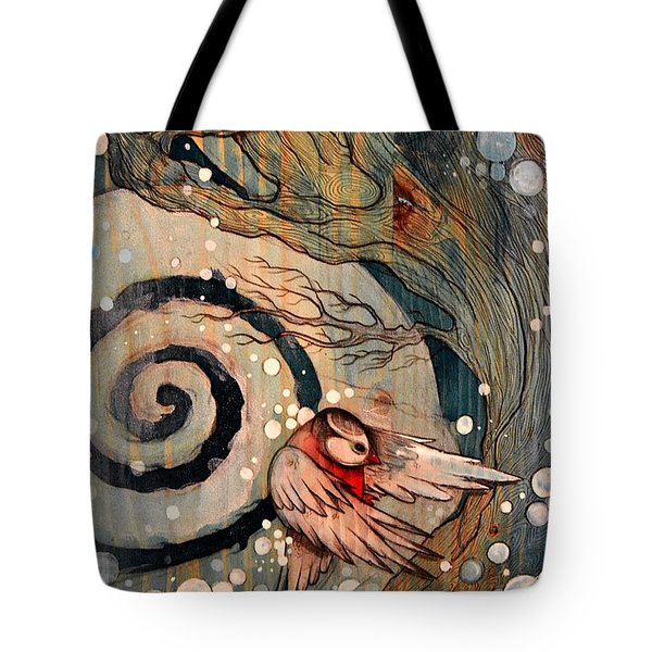 Winter Becoming Tote Bag
