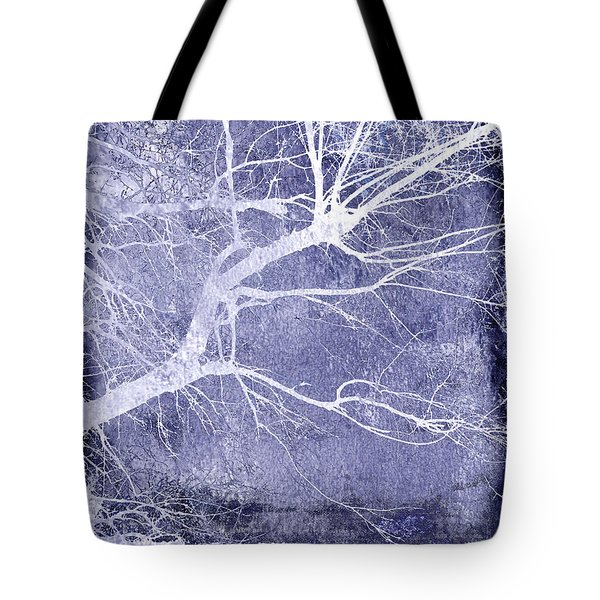Winter Blues Tote Bag by Ann Powell