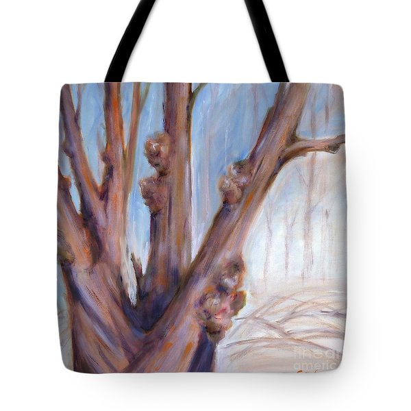 Winter Bones Tote Bag by Sally Simon