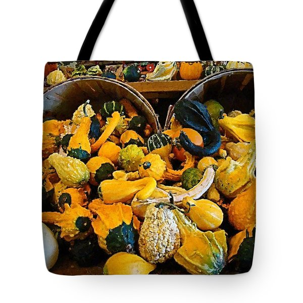 Winter Gourds  Tote Bag by Nick Kloepping