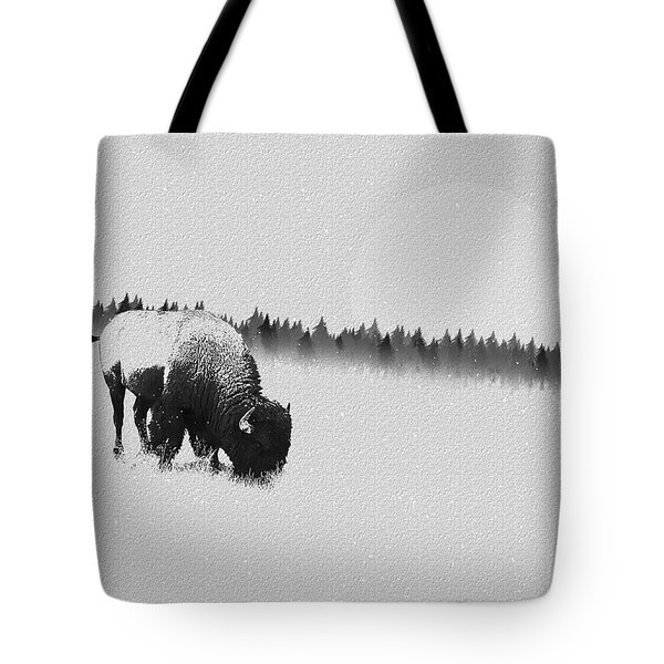 Winter Graze Tote Bag