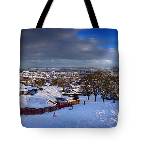 Winter In Inverness Tote Bag