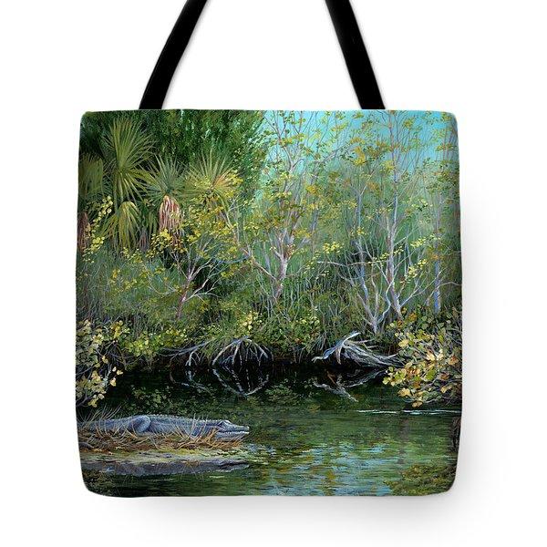 Winter Leaves Tote Bag by AnnaJo Vahle