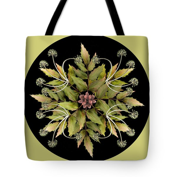 Winter Mandala Tote Bag