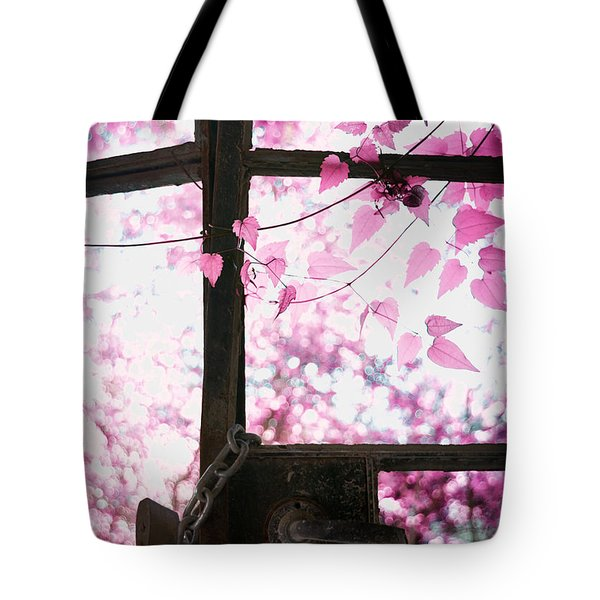 Winter Morning Tote Bag by Stelios Kleanthous