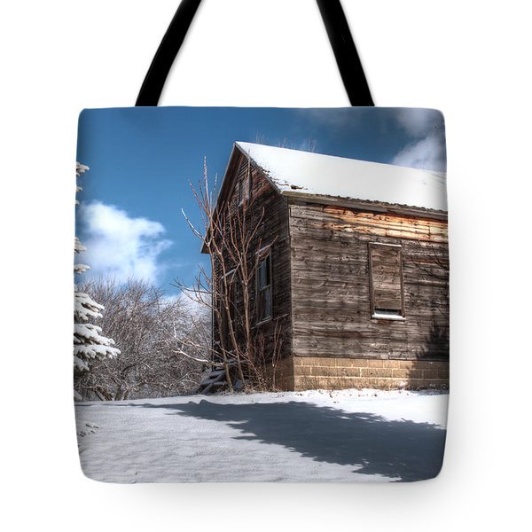 Winter Shed Tote Bag