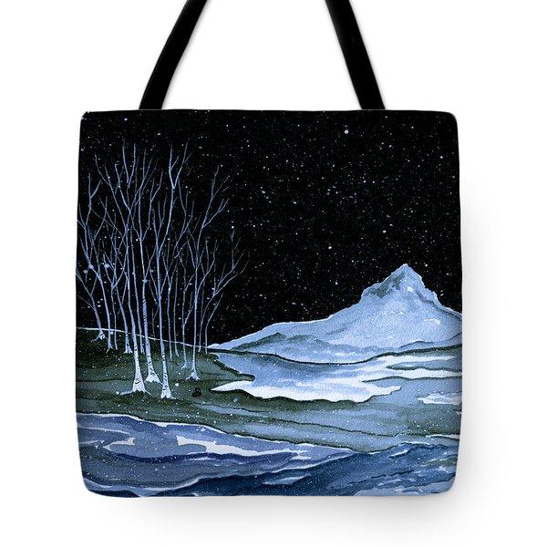 Winter Solstice Tote Bag by Brenda Owen