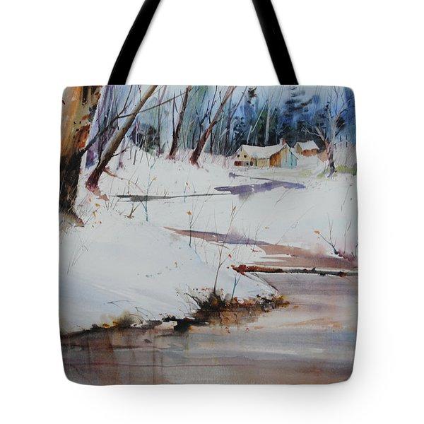 Winter Wonders Tote Bag by P Anthony Visco