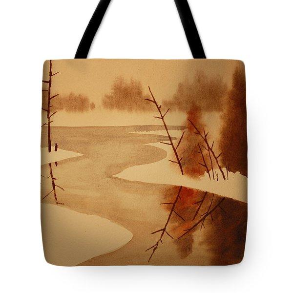 Winterbend Tote Bag by Jeff Lucas