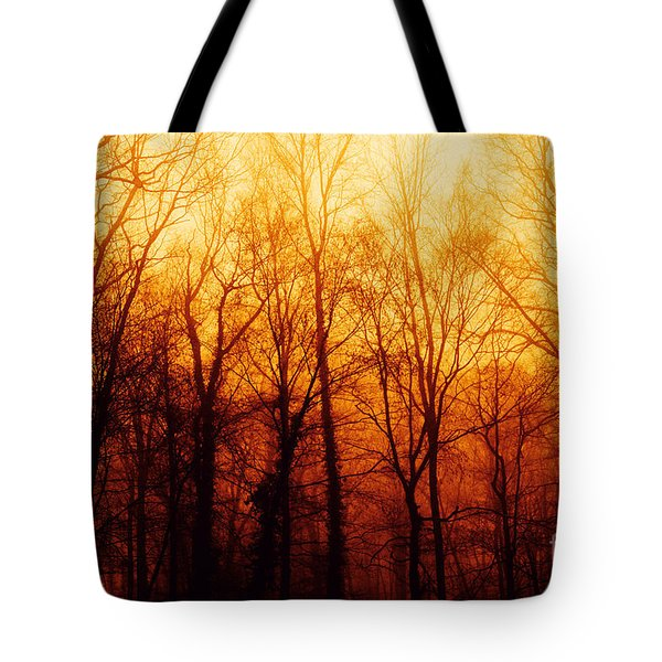 Winters Harvest Tote Bag