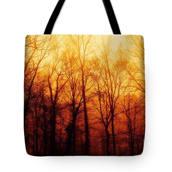 Winters Harvest Tote Bag
