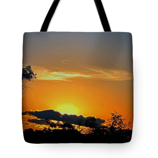 Wisconsin Sunset Tote Bag