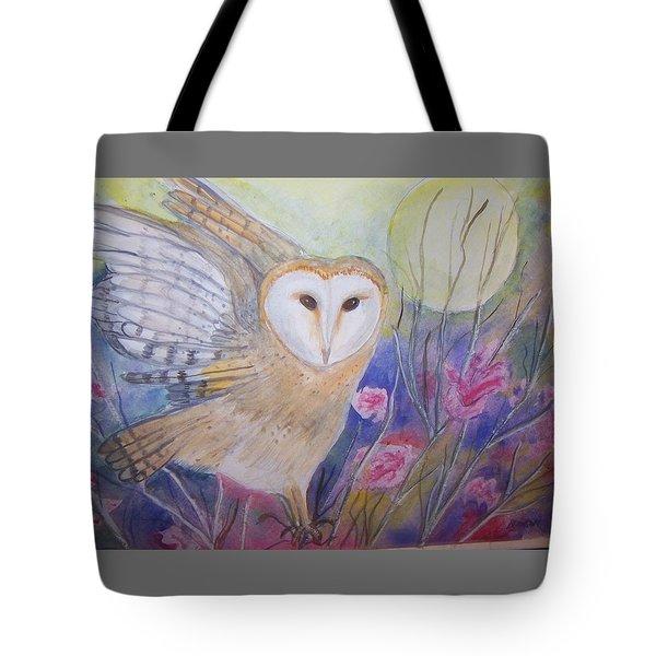 Wise Moon Tote Bag