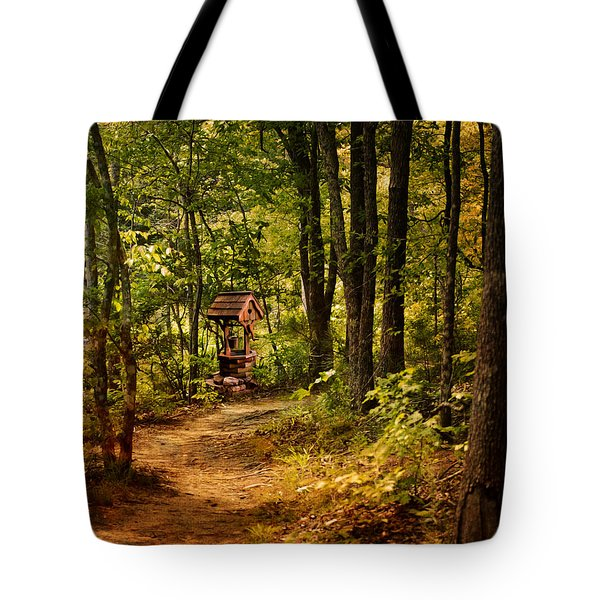 Wishing Path Tote Bag by Jai Johnson