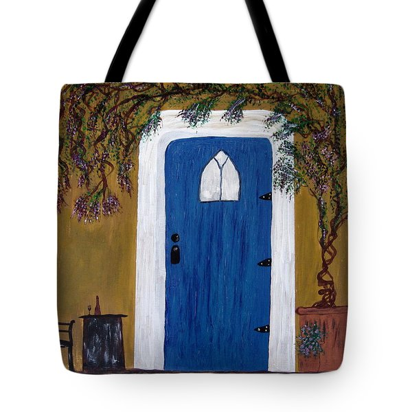Wisteria Winery Tote Bag