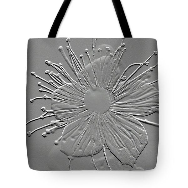 Witch Hazel Blossom Tote Bag by Donna Bentley