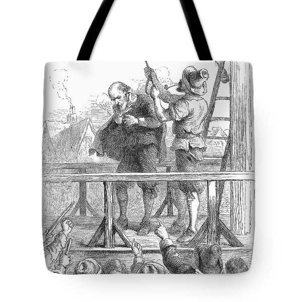 Witch Trial: Execution, 1692 Tote Bag by Granger