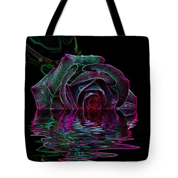 With A Glow Tote Bag by Doug Long