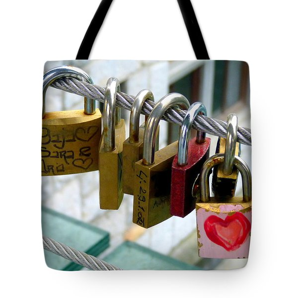 With All My Heart Tote Bag by Carla Parris