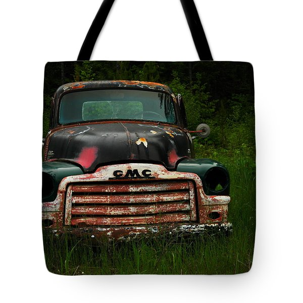 With Both Eyes Poked Out Tote Bag by Jeff Swan