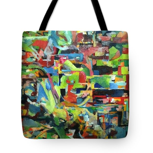 With Heavenly Assistance Tote Bag by David Baruch Wolk