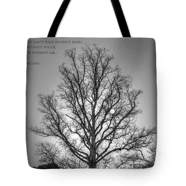 Without Hope... Tote Bag by Dan Stone