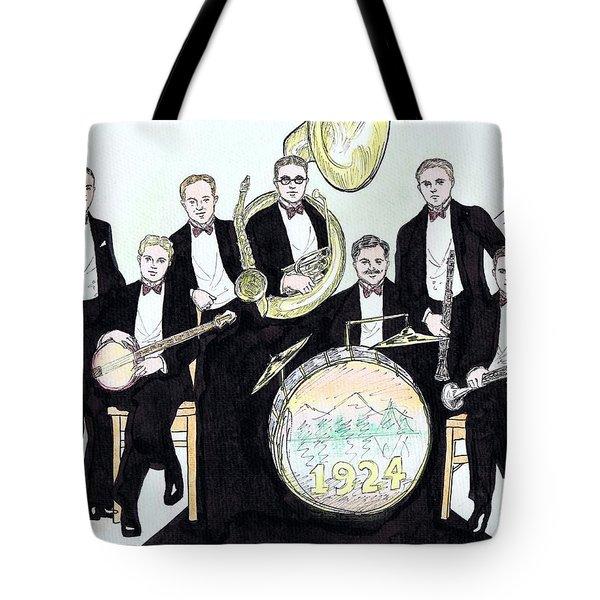 Wolverines 1924 Tote Bag