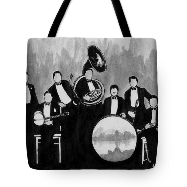 Wolverines Black And White Tote Bag