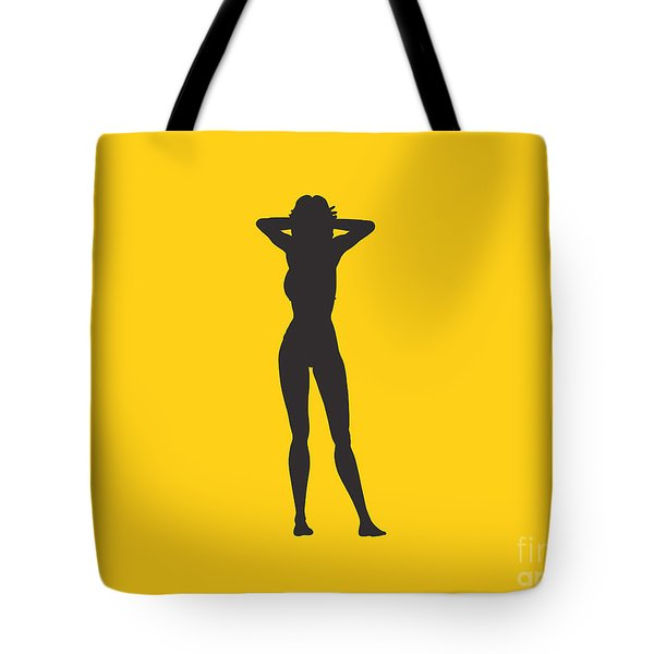 Woman Relaxed  Tote Bag by Pixel Chimp