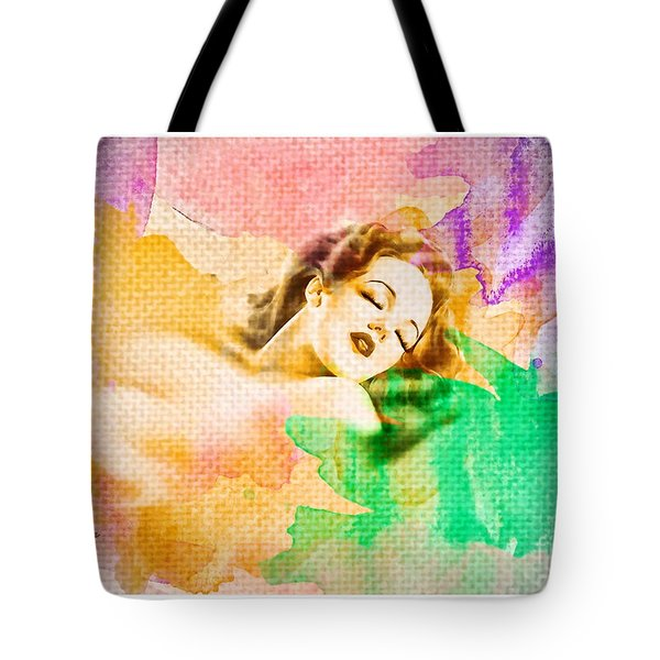 Woman's Soul Part 1 Tote Bag by Mo T